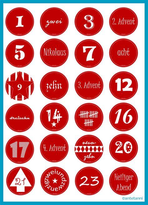 adventskalender druckvorlage weihnachtscountdown 2016 antetanni bastelt rot wei 223