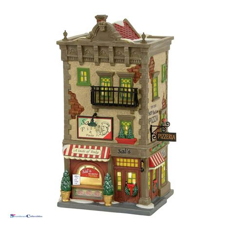 dept 56 christmas in the city 4056623 sal s pizza pasta