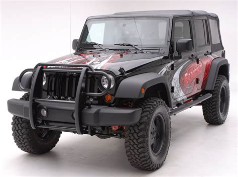 jeep front grill guard jeep road accessories protect your jeep