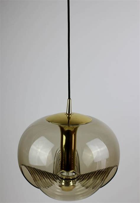 stunning glass bucket pendant l with light colored extra large biomorphic hanging pendant light l by peill