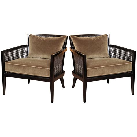 cane armchairs pair of cane armchairs by harvey probber c 1960 at 1stdibs