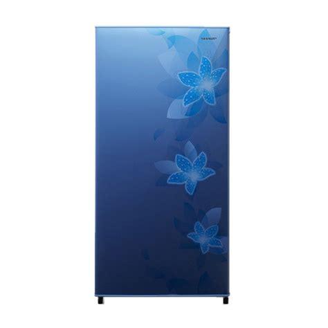 Kulkas Sharp Sj 246 jual sharp kulkas 1 pintu sj n166f fb biru jd id