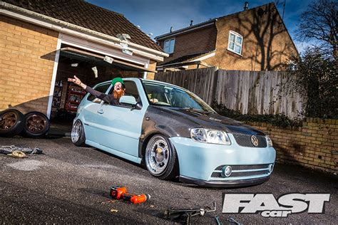 modified volkswagen polo modified vw polo fast car