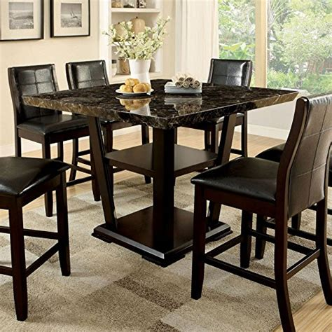 9pc dining room set 247shopathome idf 3933pt 9pc dining room 9 piece set