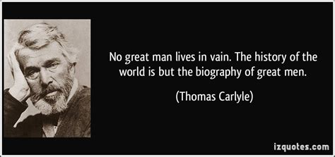 history of biography and autobiography no great man lives in vain the history by thomas carlyle