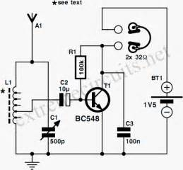 electronics projects and electronic circuits diagrams one transistor radio