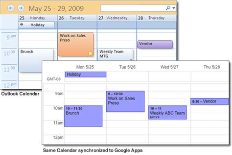 G Calendario Calendar Vs Outlook G Suite Help