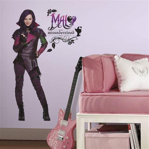 Super Mario Bedroom Ideas disney descendants mal 43 quot giant wall decals mural room