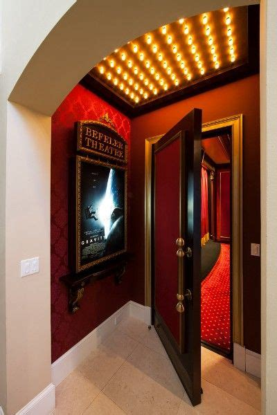 home theater entrance home cinema room