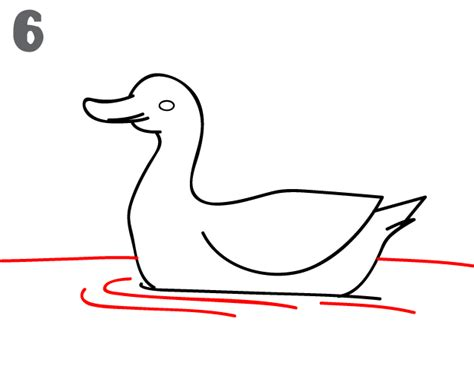 how to draw ducks duck drawing outline