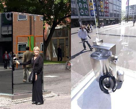 see through public bathroom strange quot see thru quot public bathroom