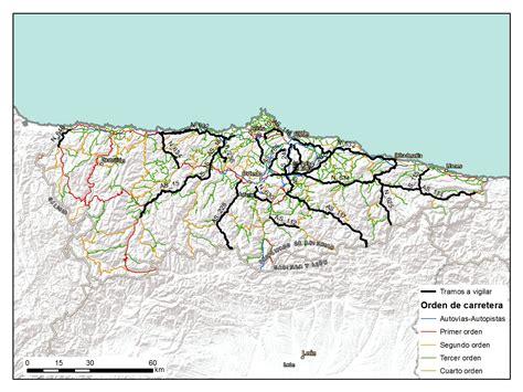asturias mapa de carreteras 8499355900 asturias