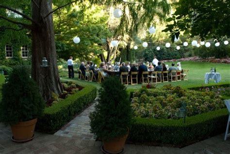 real weddings bonnie  kevins delightful garden