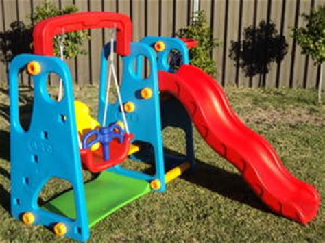 baby slide and swing set baby kids toddler swing slide set brand new in box