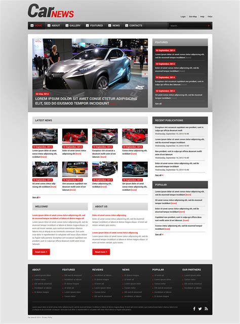 template racing joomla programs