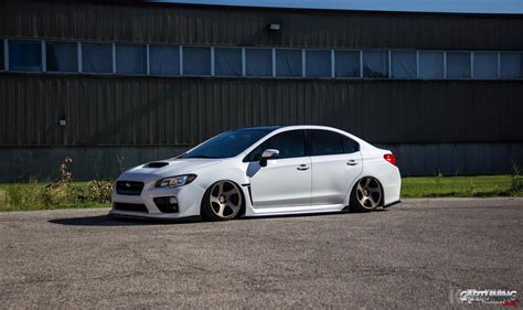 subaru sti 2016 slammed low subaru impreza wrx 2016 on wheels rotiform