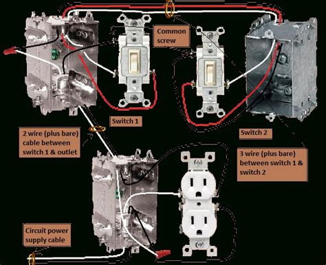 half switched outlet wiring diagram switch receptacle
