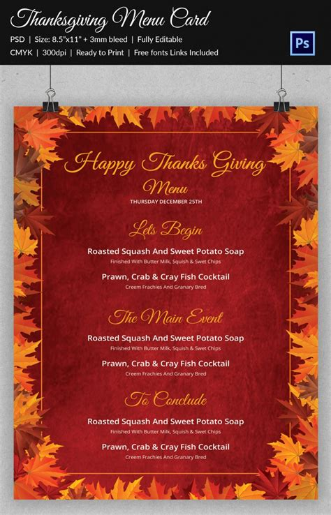 thanksgiving designs  printable psd ai