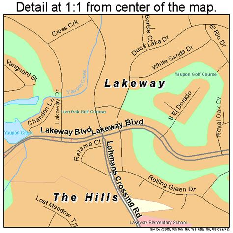 map of lakeway texas lakeway texas map 4840984