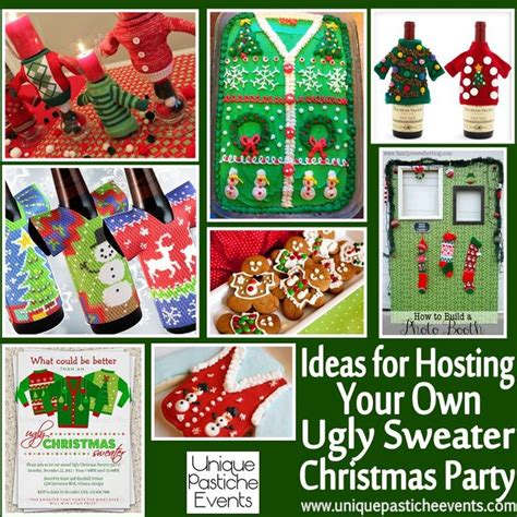 ideas for hosting your own ugly sweater christmas party