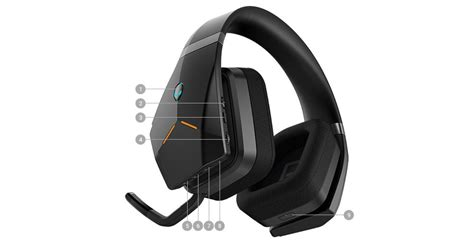 alienware wireless gaming headset aw988 dell united states