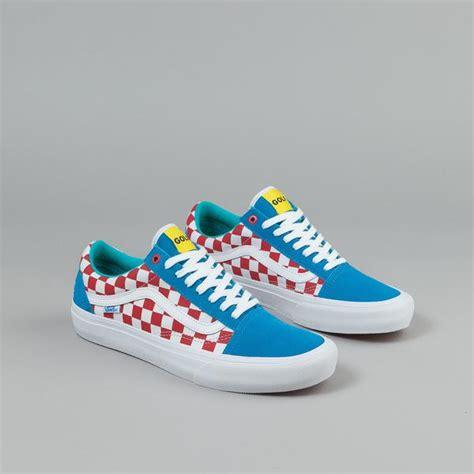 Vans Golfwang 1 vans skool pro shoes golf wang blue white flatspot