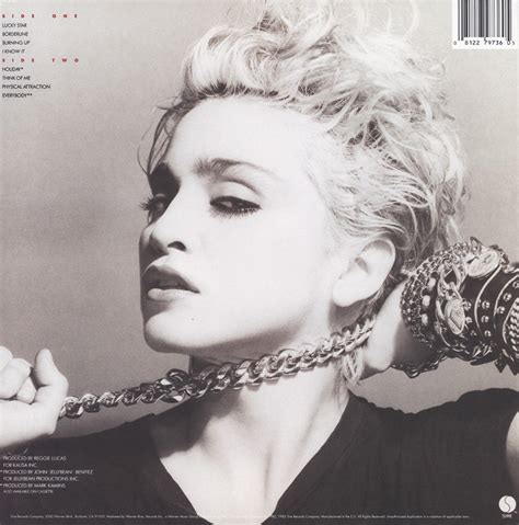 Cd Madonna madonna the album madonna debut album reggie lucas jellybean mad