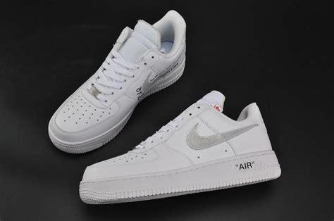 Nike Air 1 For cheap virgil abloh x nike air 1 low white for sale