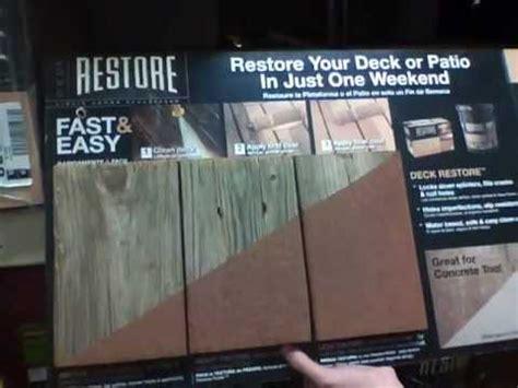 Restore Deck Liquid Armor Resurfacer by Restore Liquid Armor Deck Resurfacer Home Depot