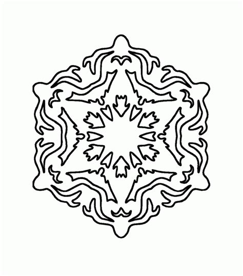 free coloring pages snowflake printable free printable snowflake coloring pages for kids