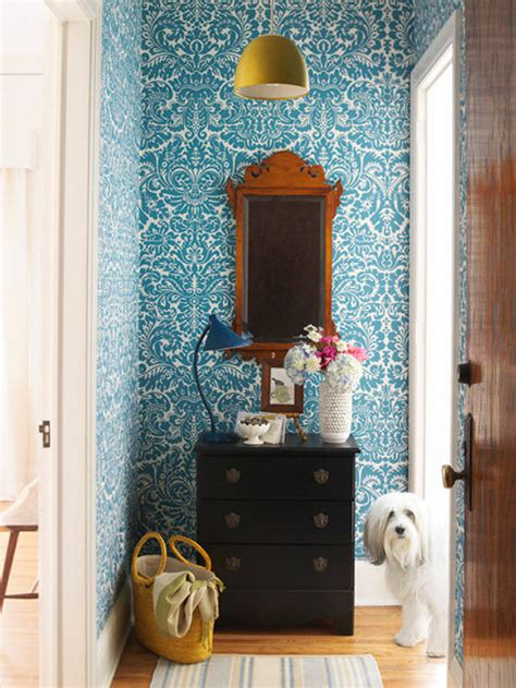 entryway wallpaper wallpaper nature mural accent wall damask bold entryway