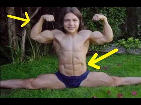 imagenes de jovenes fuertes los 5 ni 241 os m 225 s fuertes del mundo youtube
