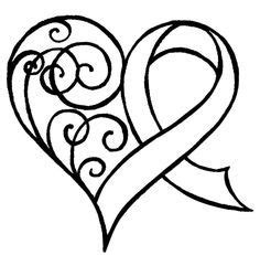 25 Best Ideas About Awareness Ribbons On Pinterest Pink Ribbon Coloring Pages