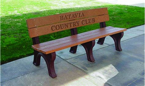 engraved benches memorial classic engraved benches kirbybuilt products
