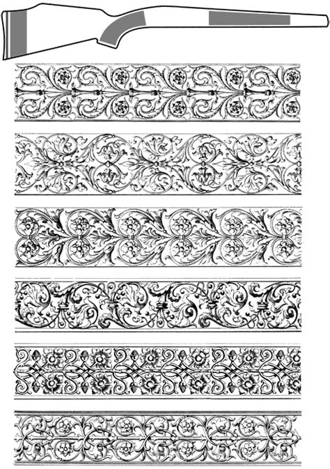 engraving letter templates gun engraving pattern images