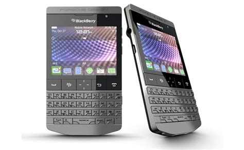 Handphone Blackberry Porsche 6 jenis handphone unik dengan desain kaku dotomos