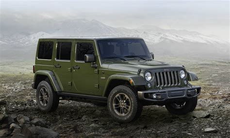 Akins Jeep 2016 Jeep Wrangler 75th Anniversary Edition Release Date