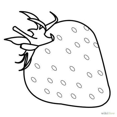 Strawberry Outline Drawing by Draw Strawberries How To Draw To Draw And Draw