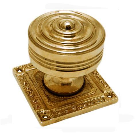 Brass Knobs Uk by Snobsknobs Pair Of Marbella Brass Door Knobs Snobsknobs