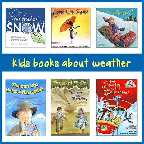 weather picture books best books on weather for in k 8