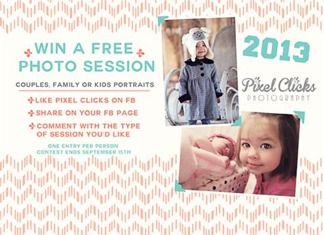 Free Sweepstakes - giveaway win a free photography session atlanta marvelous mommy