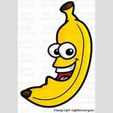 Funny Banana Clipart - Clipart Kid