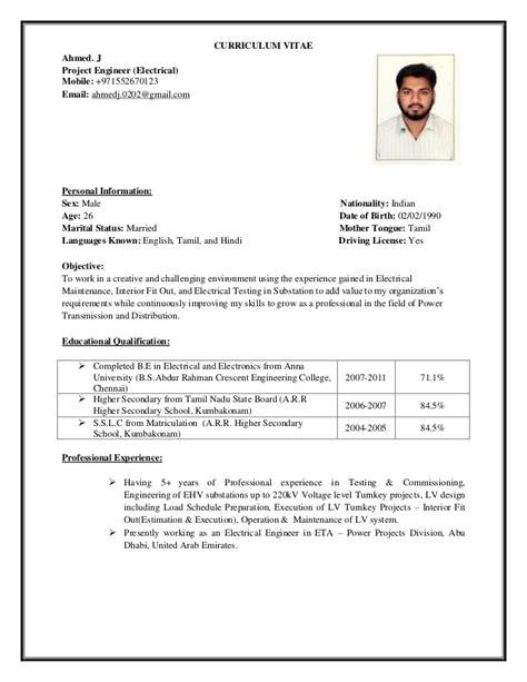 Minyak Kemiri Ns curriculum vitae updated 07 01 17