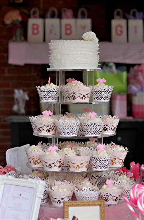 chagne and cupcakes bridal shower theme cupcake display gallery the couture cakery