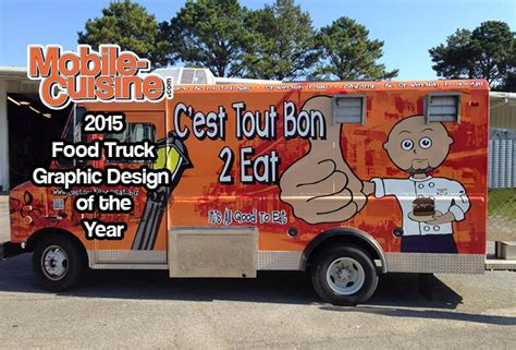 graphic design food truck c est tout bon 2 eat 2015 graphic design of the year