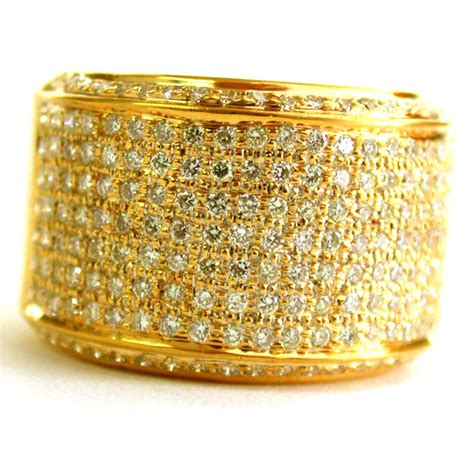 Golden Ring Pix by 0 50ct Two Tone 18kt Gold Rings Surat