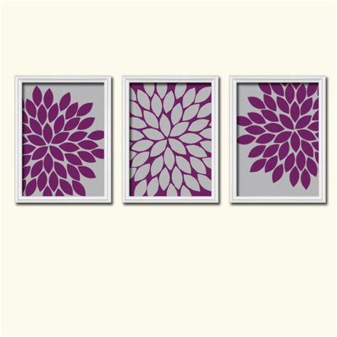 eggplant and grey bedroom purple gray wall art bedroom canvas or prints eggplant
