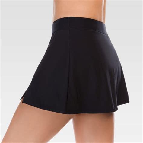s swim skirt black aqua green 174 target