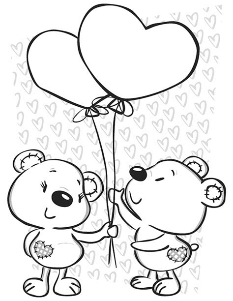 imagenes de amor animadas de animales dibujo del amor para colorear en linea y dar un detalle