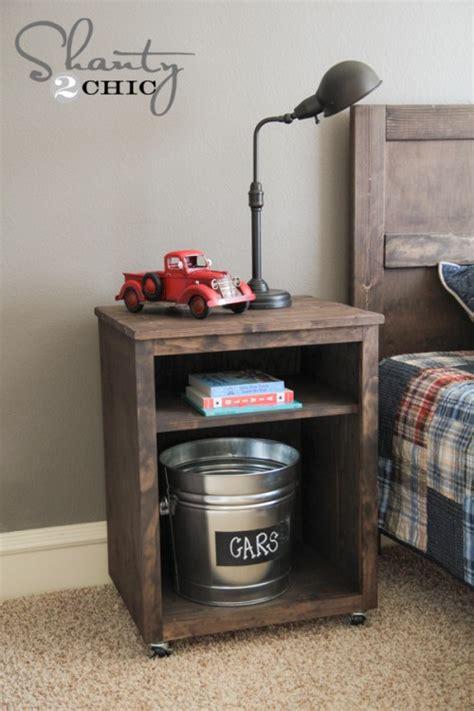 How To Make Nightstand diy nightstand shanty 2 chic